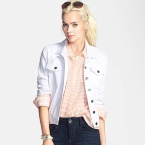 KUT from the Kloth Amelia Light Distressed Jacket